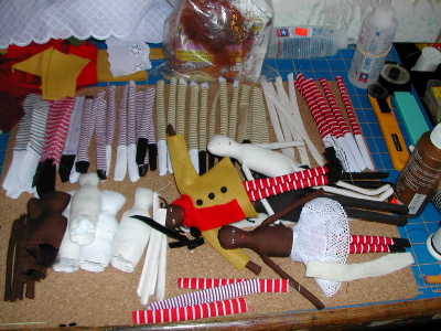 mini doll parts