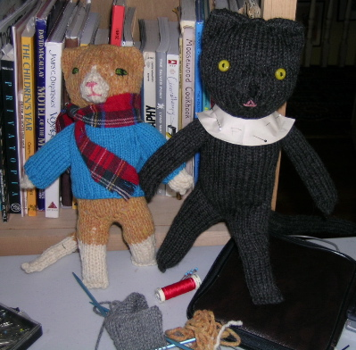 2 knit cats