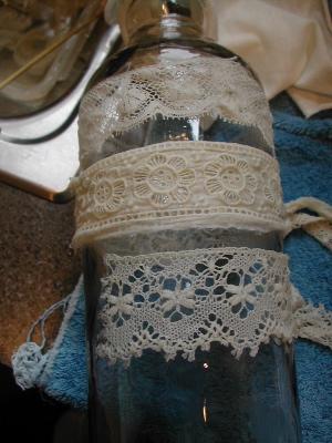 wet lace