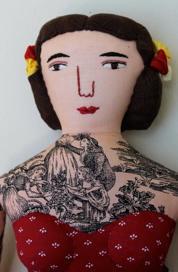 10:25:tattoo lady 3d
