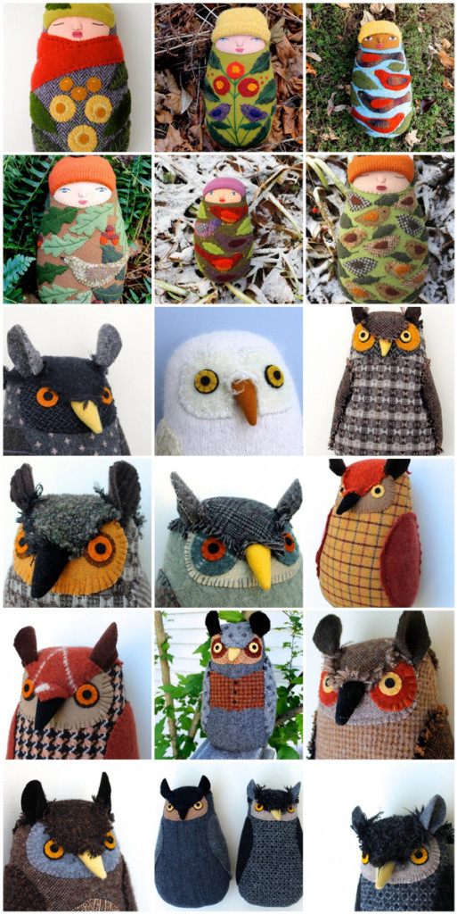 1:1:babies and owls