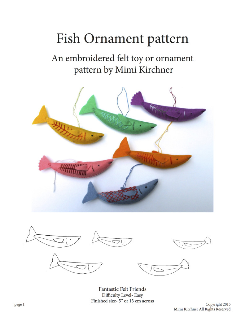 Fish Pattern cover
