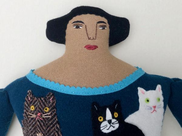 7-22-cat lady 2 - 2