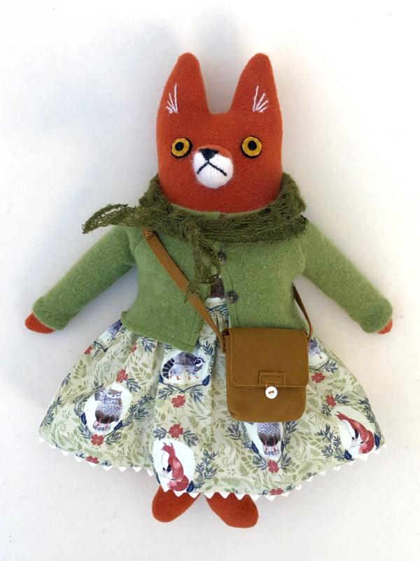 12-20-green fox girl - 1