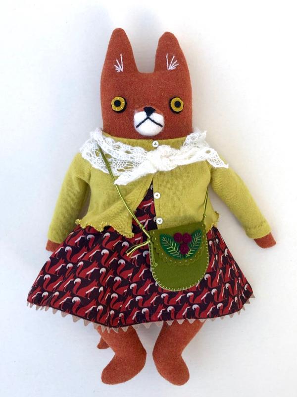 12-21-fox dress girl - 1