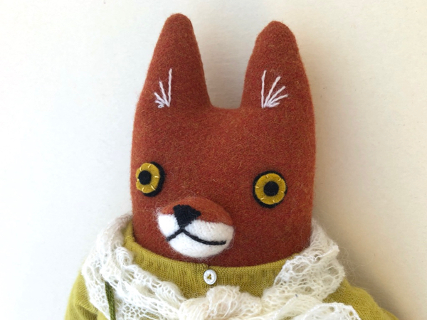 12-21-fox dress girl - 3